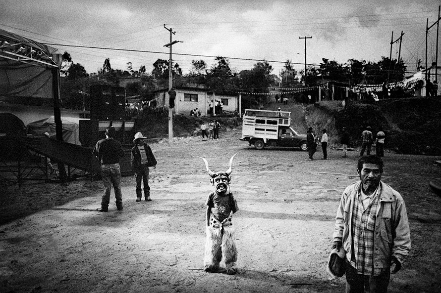 Matt Black - San Pedro Chayuco, Mexico. Saint's Day celebration.